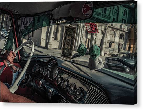 Notes Canvas Print - Taxidriver by Andreas Bauer
