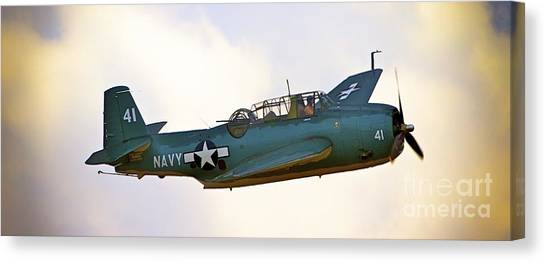 Tbf Avenger  Adventure Canvas Print