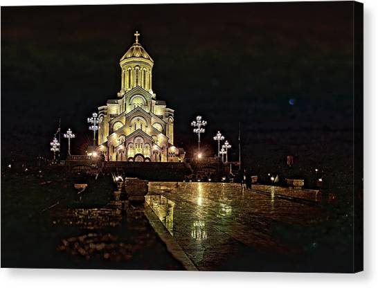 Tbilisi Church Canvas Print