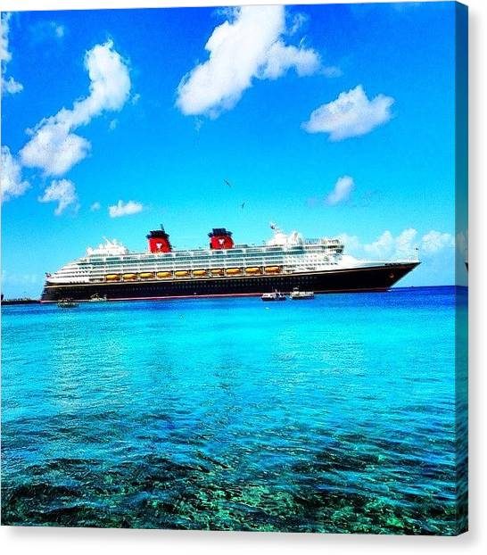 Wine Canvas Print - #tbt #cancun #disney #scuba #diving by Thewinery Wine