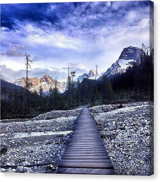 Wilderness Canvas Print - #tbt Last #summer #hiking & #exploring by Cody Haskell