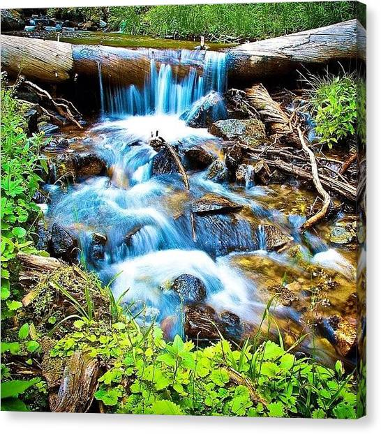 Idaho Canvas Print - #tbt #summer #backpacking In #idaho by Cody Haskell