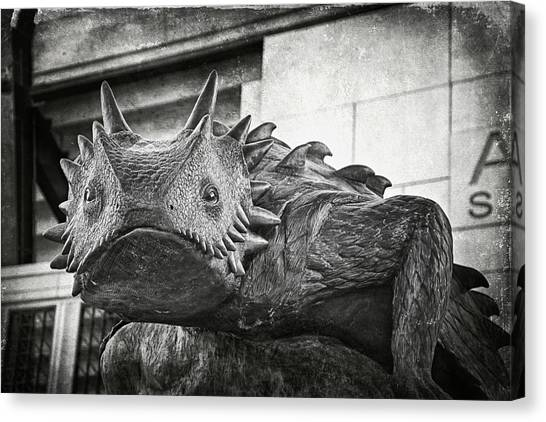Tcu Horned Frog 2014 Canvas Print