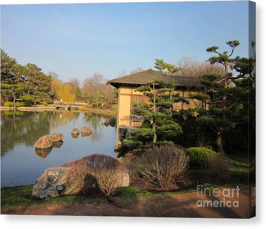 Tea House Canvas Print