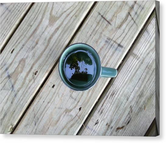 Tea Leaves Canvas Print