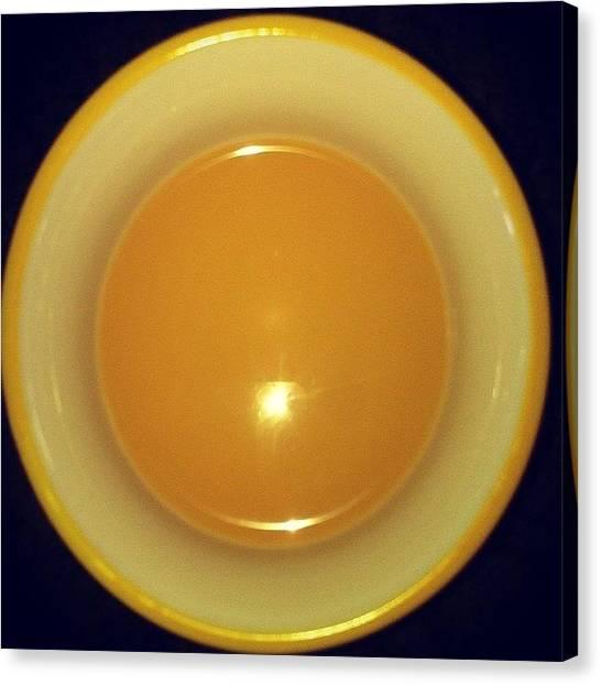 Tea Time Canvas Print - Tea Time :) #normallydontdrinktea by Sarah Schlender