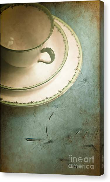 Tea Time Canvas Print - Tea Time by Jan Bickerton