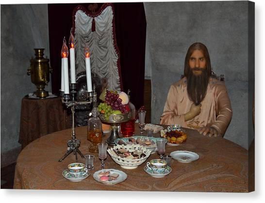 State Hermitage Canvas Print - Tea With Rasputin by Tom Wurl
