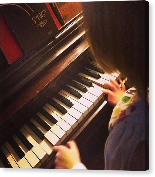Teachers Canvas Print - Teaching Music All Day Erryday by Sara Norris