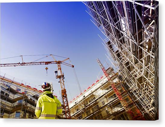 Technology And Construction Instrument Canvas Print