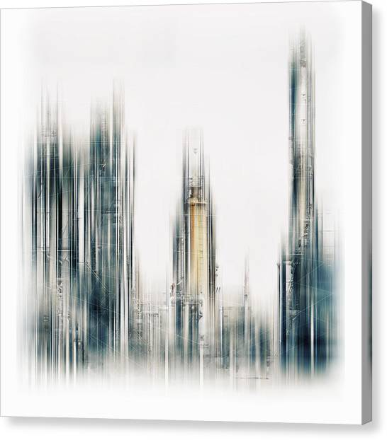 Industry Canvas Print - Techworld by Stefan Eisele