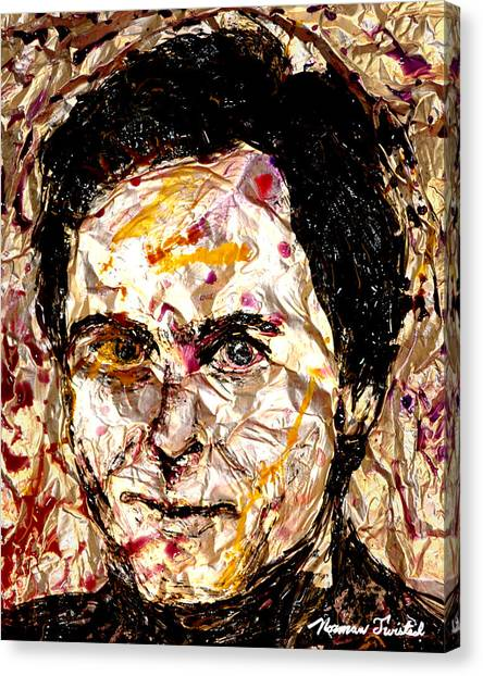 Ted Bundy Canvas Print - Ted Bundy Electric by Norman Twisted