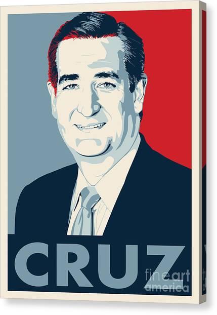 Ted Cruz Canvas Print - Ted Cruz by John Lehman