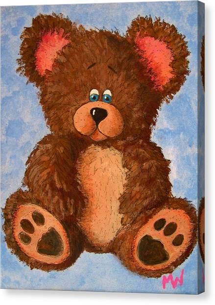 Ted Canvas Print