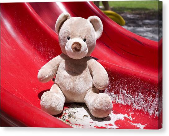 Care Bears Canvas Print - Teddy Bear 6 by William Patrick