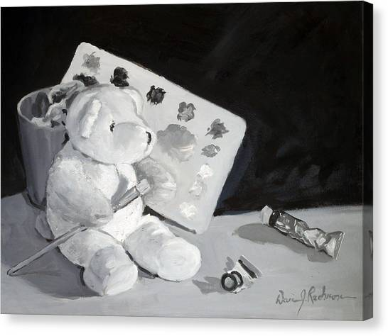 Teddy Behr The Painter #2 Canvas Print