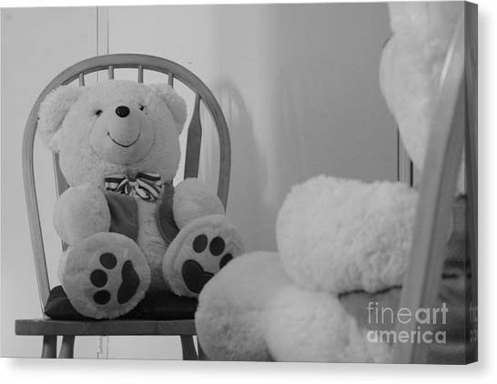 Teddy Canvas Print by Bobby Mandal