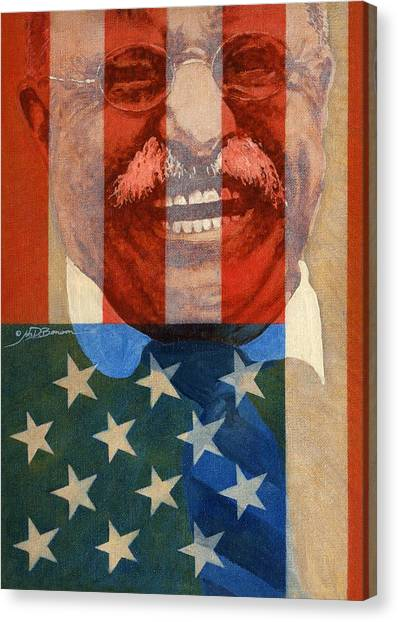 Teddy Roosevelt Canvas Print