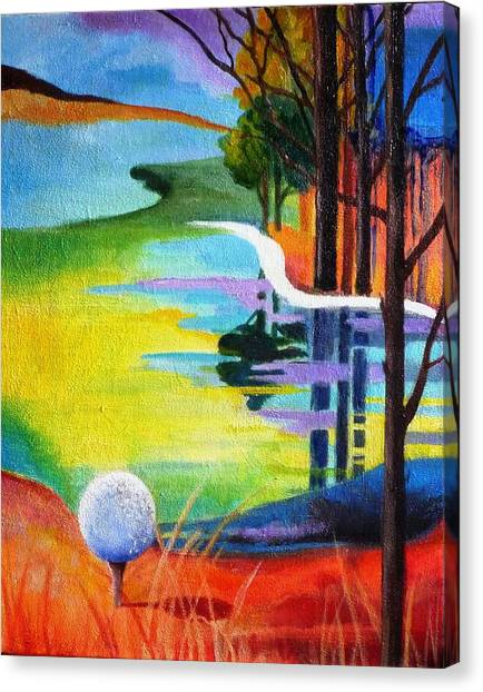 Tee Off Mindset- Golf Series Canvas Print