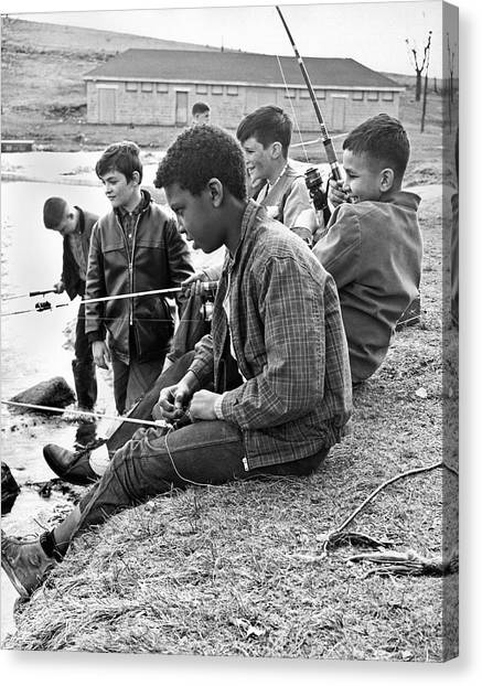 Image result for negro and white boys fishing