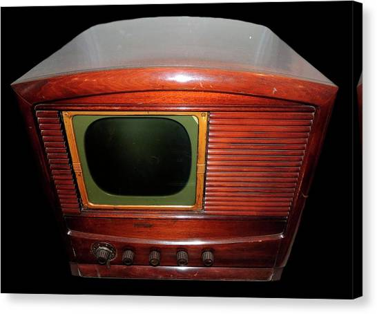 Television Manufactured By Philco Canvas Print by Universal History Archive/uig