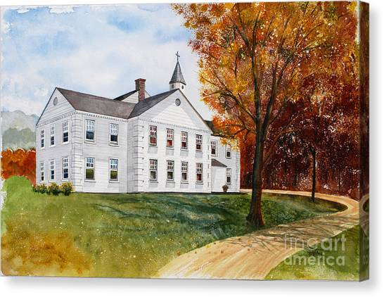 Tellico First Methodist Canvas Print