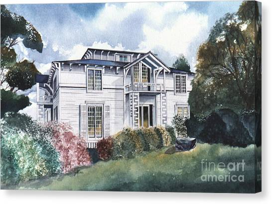 Tellico Johnson Mansion  Canvas Print