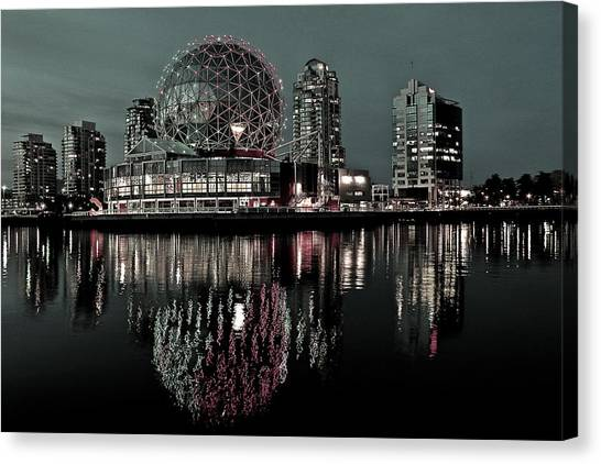 Telus World Of Science Canvas Print