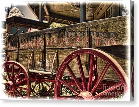 Temecula Wagon Canvas Print