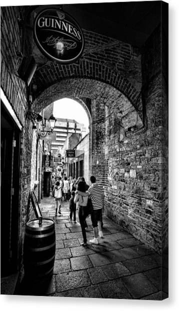 Temple Bar Dublin Ireland Canvas Print