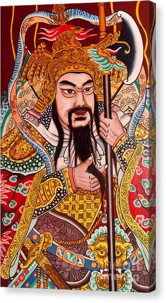 Temple Door 03 Canvas Print