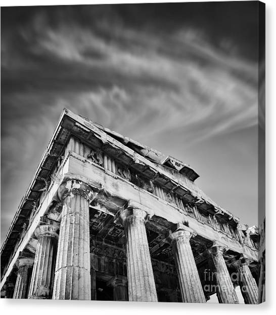 Greece Canvas Print - Temple Of Hephaestus- Athens by Rod McLean