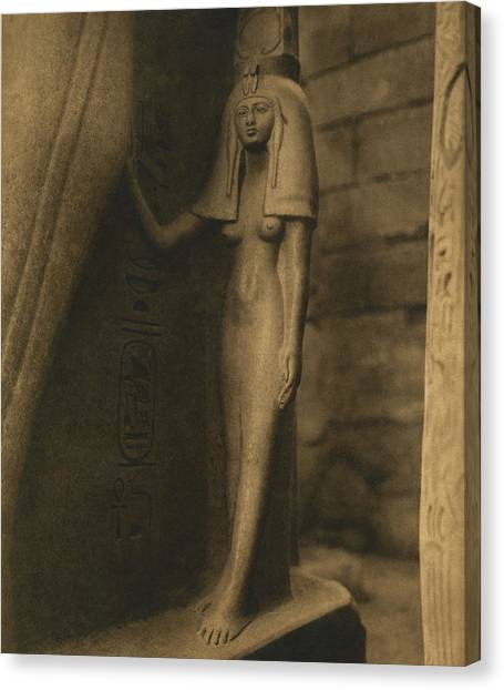 1880s Canvas Print - Temple Of Luxor by Underwood Archives