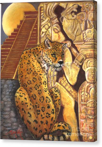 Temple Of The Jaguar Canvas Print