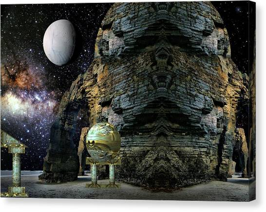 Temple Of The Mind Canvas Print