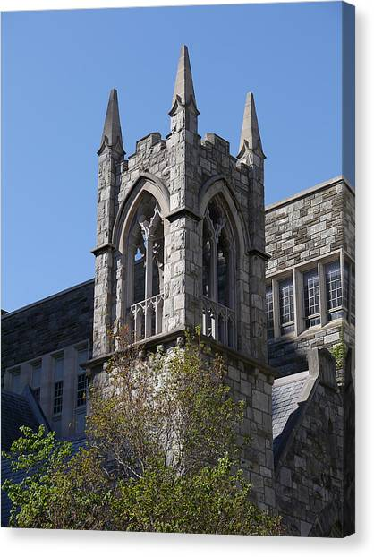 Temple University Canvas Print - Temple Tower by Richard Reeve