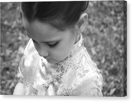 Tender Moment Canvas Print by Stephanie Grooms
