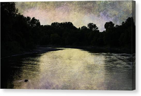 Tender Sundown Canvas Print