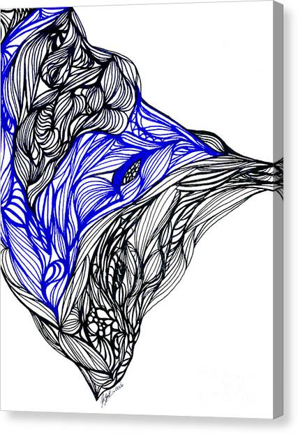 Fineart Canvas Print - Tenebrosity by Jamie Lynn