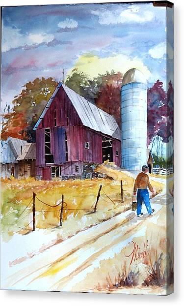 Tennesee Farm Canvas Print