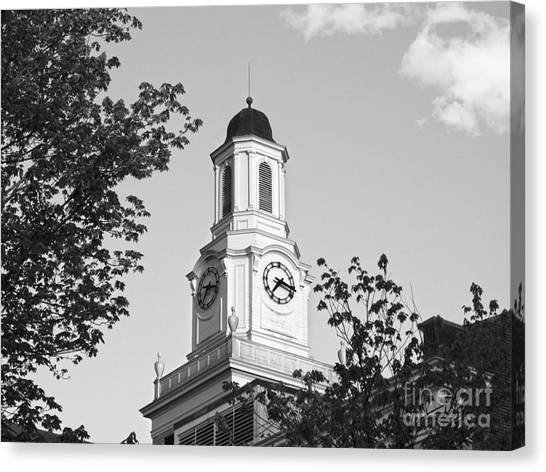 Golden Eagle Canvas Print - Tennessee Tech University Derryberry Hall by University Icons