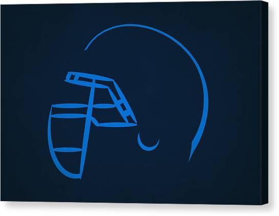 Tennessee Titans Canvas Print - Tennessee Titans Helmet by Joe Hamilton