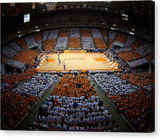 Sec Canvas Print - Tennessee Volunteers Thompson-boling Arena by Replay Photos