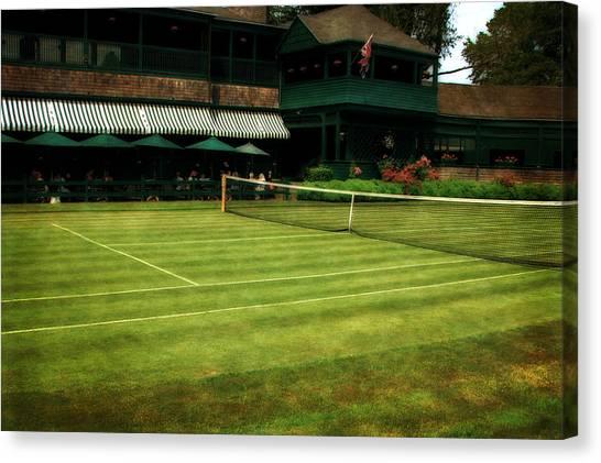 Tennis Hall Of Fame 2.0 Canvas Print