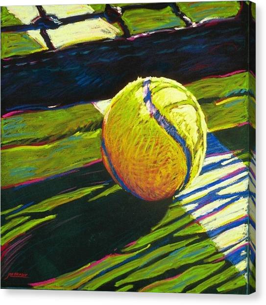 Tennis Canvas Print - Tennis I by Jim Grady