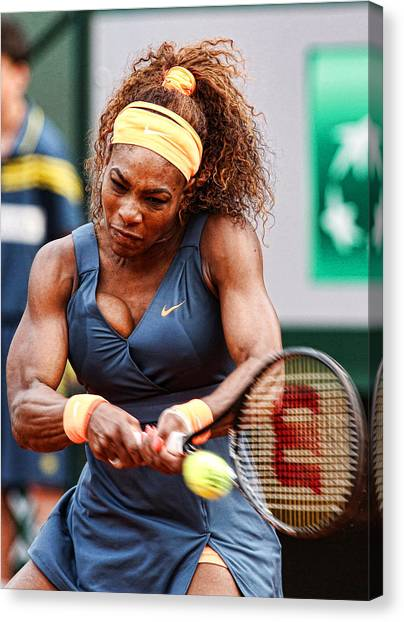 Serena Williams Art Fine Art America