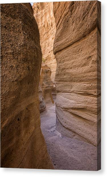 Rio Grande Canvas Print - Tent Rocks Canyon National Monument 3 - Santa Fe New Mexico by Brian Harig