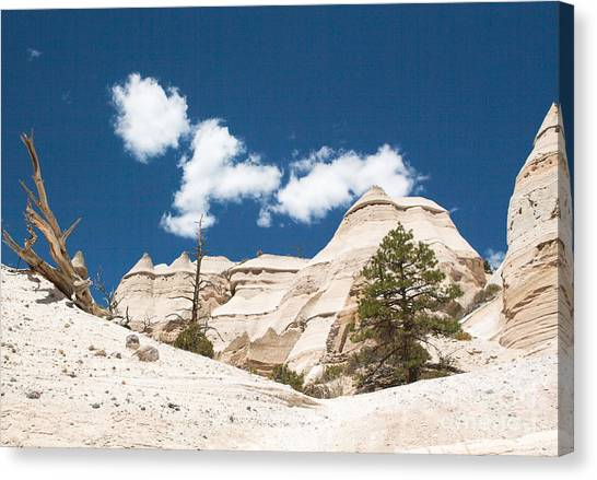High Noon At Tent Rocks Canvas Print