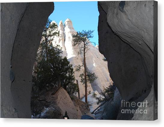 Tent Rocks Canvas Print