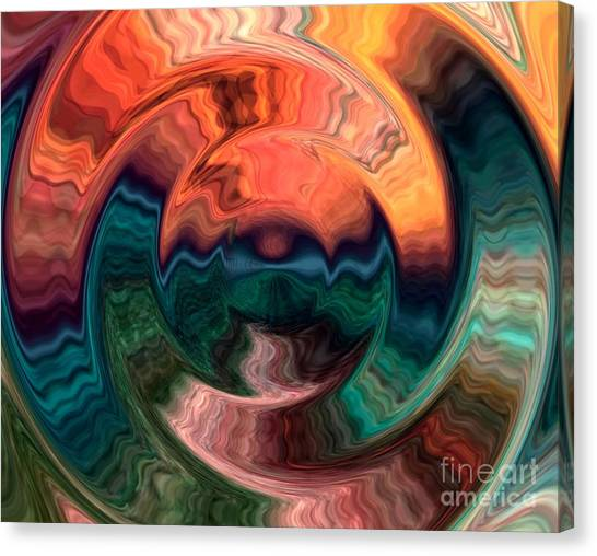 Tequila Sunrise Canvas Print - Tequila Sunrise by Anthony Morris